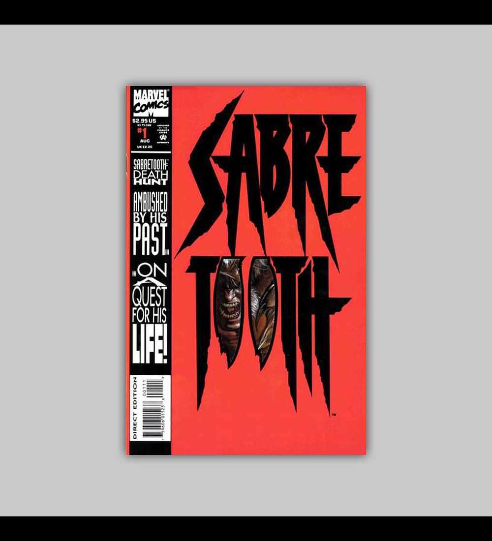 Sabretooth: Death Hunt 1 Die-Cut 1993