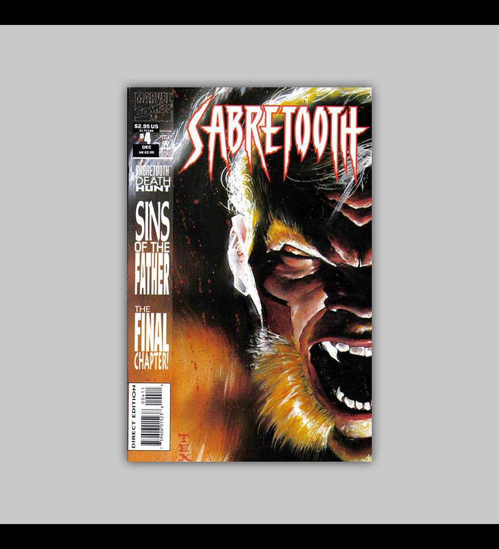 Sabretooth: Death Hunt 4 1993