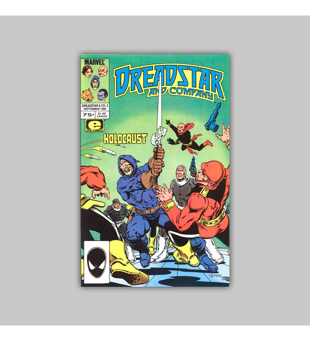 Dreadstar and Company 3 1985
