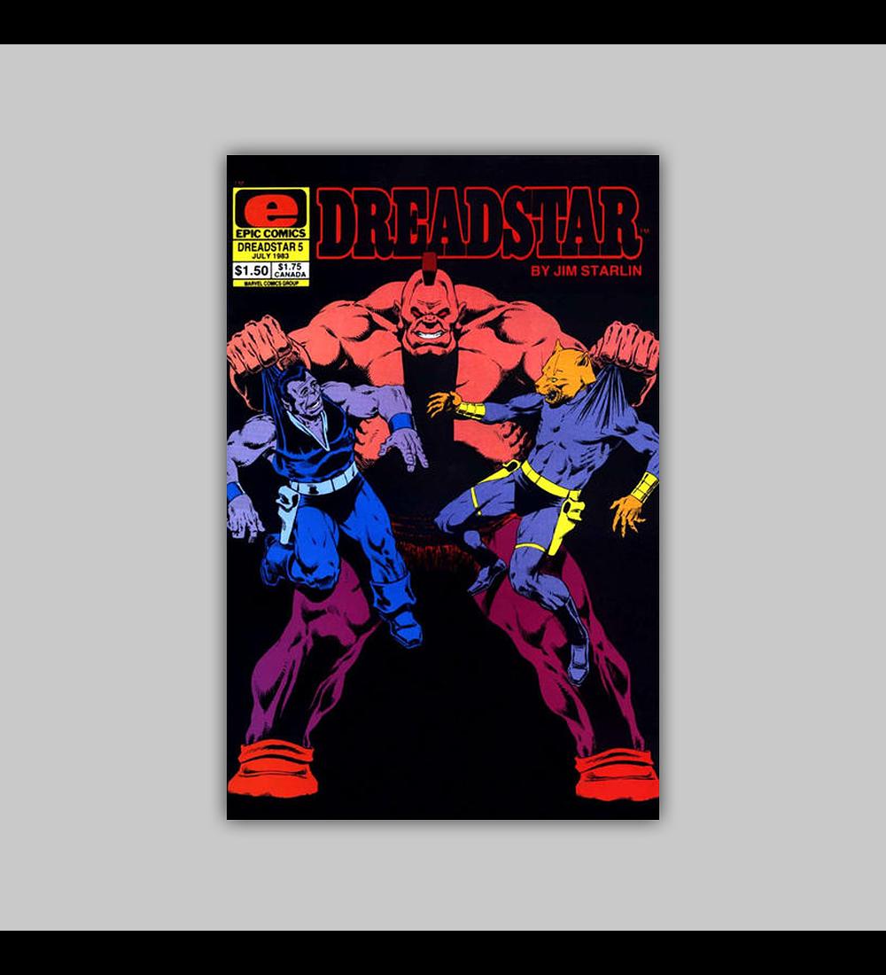 Dreadstar 5 1983