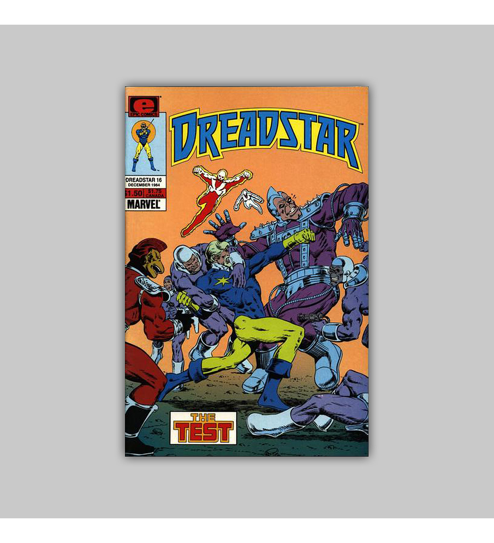 Dreadstar 16 1984