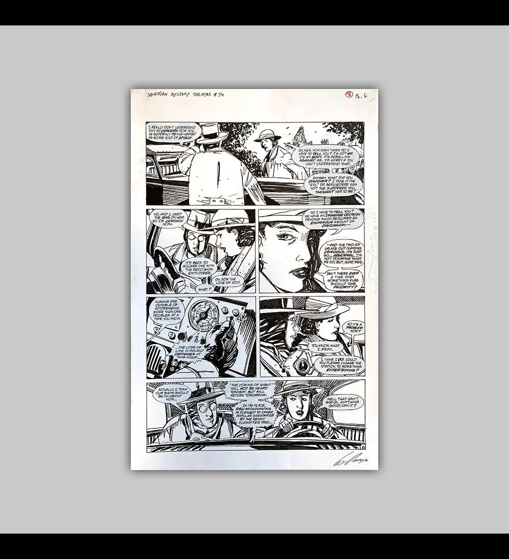 Sandman Mystery Theatre No. 56 Página 6 (Original)