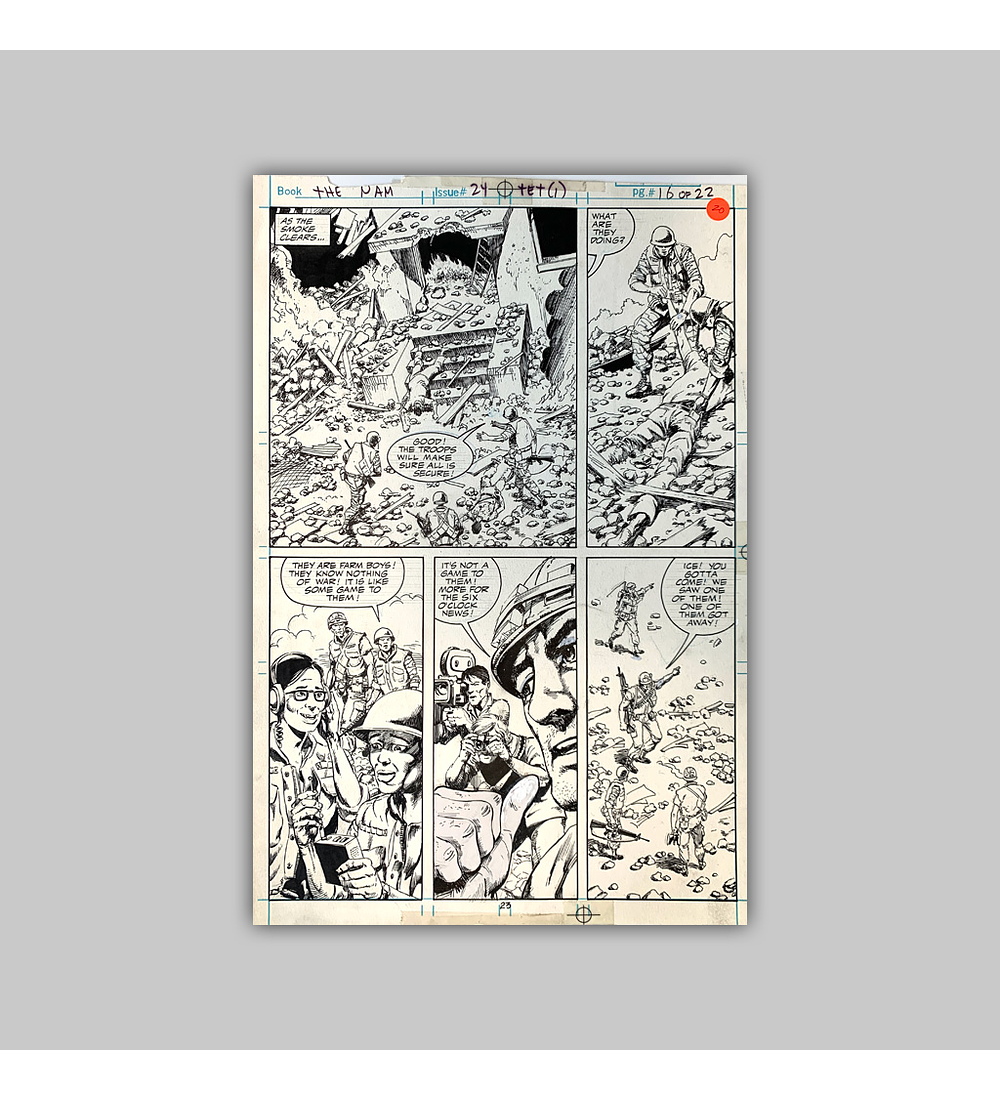 The 'Nam No. 24 Página 16 (Original)