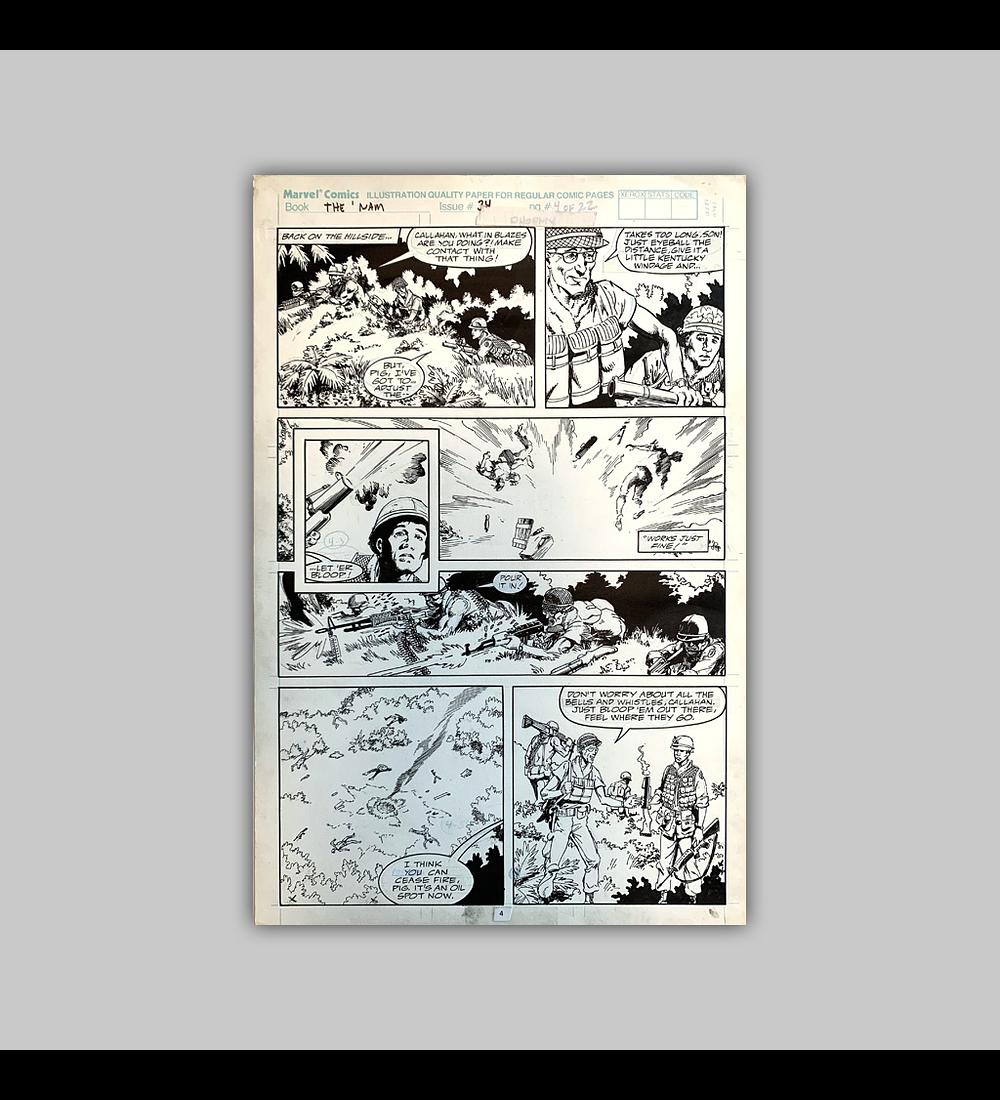 The 'Nam No. 34 Página 4 (Original)