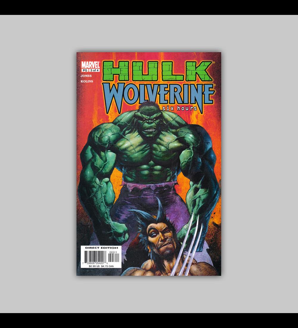 Hulk/Wolverine: Six Hours 3 2003