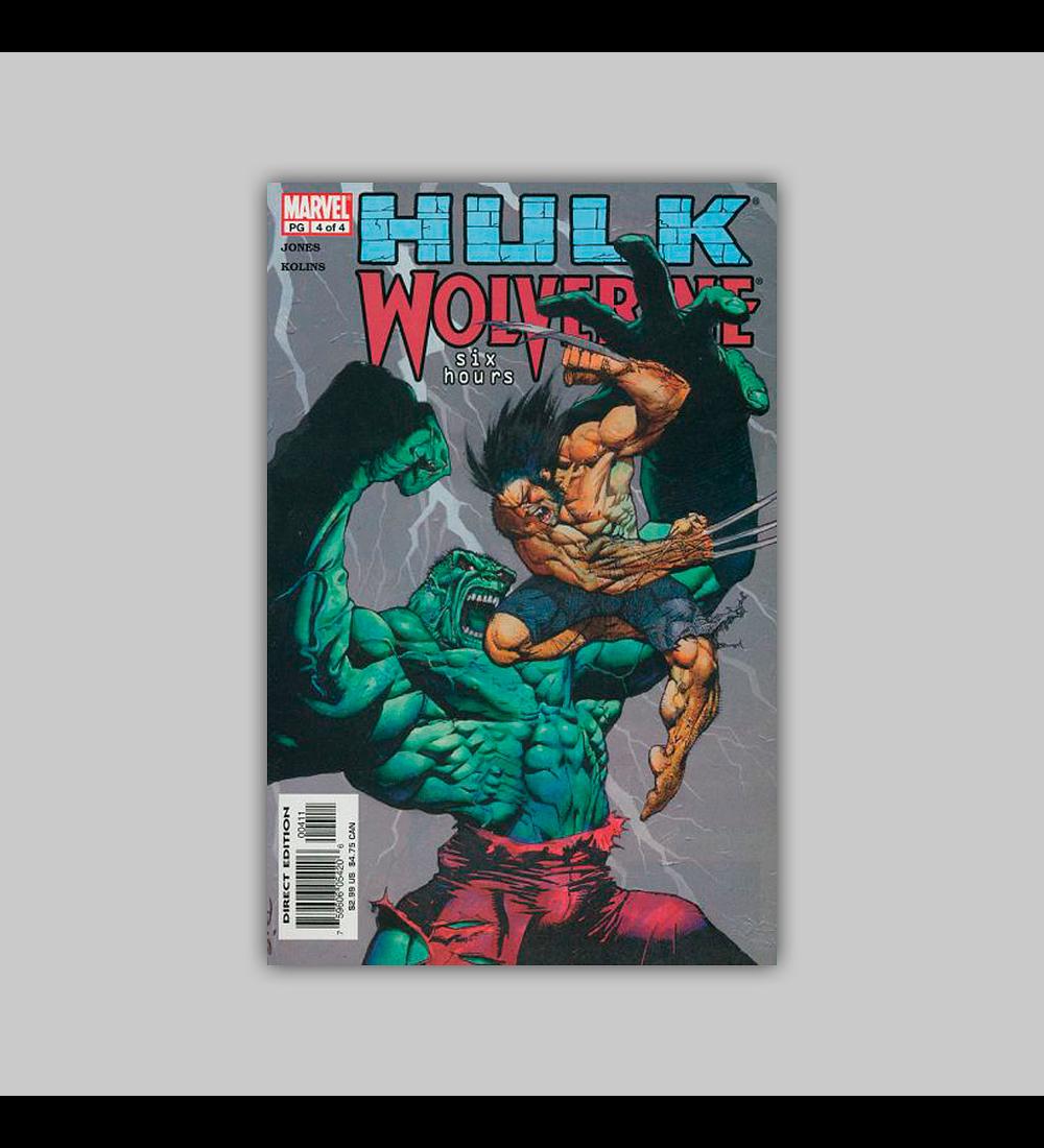 Hulk/Wolverine: Six Hours 4 2003