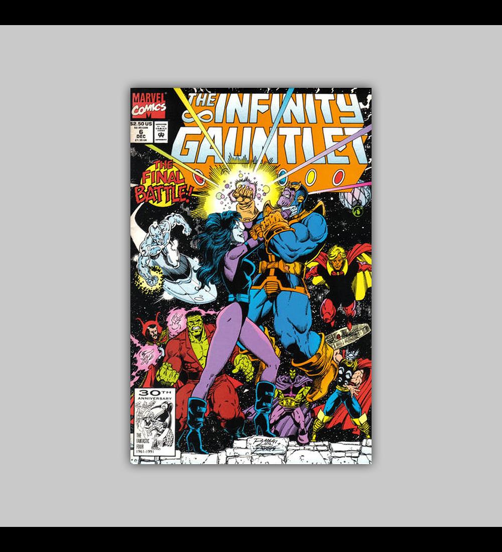 The Infinity Gauntlet 6 1991