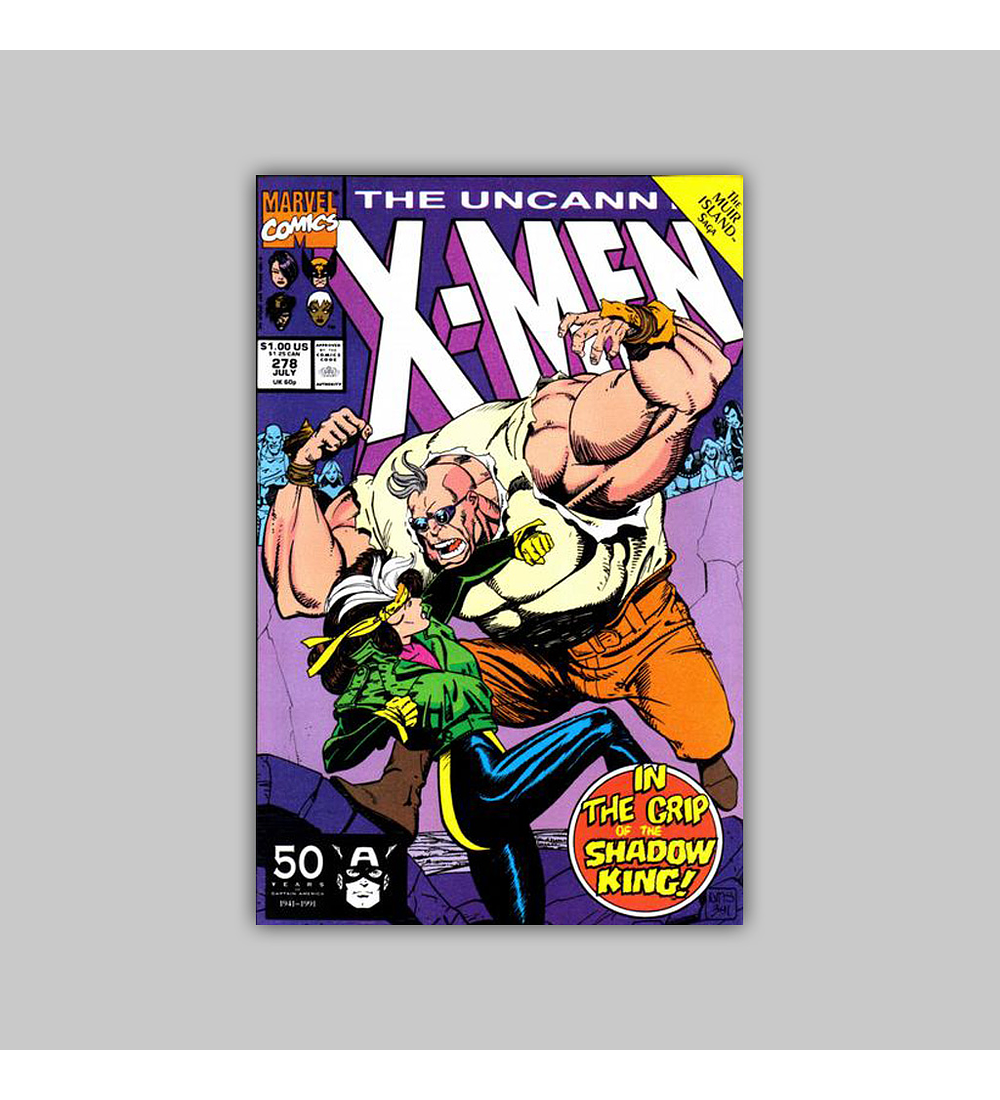 Uncanny X-Men 278 1991