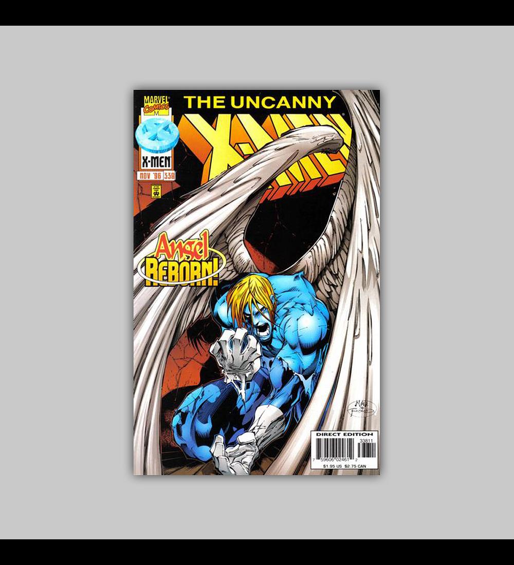 Uncanny X-Men 338 1996