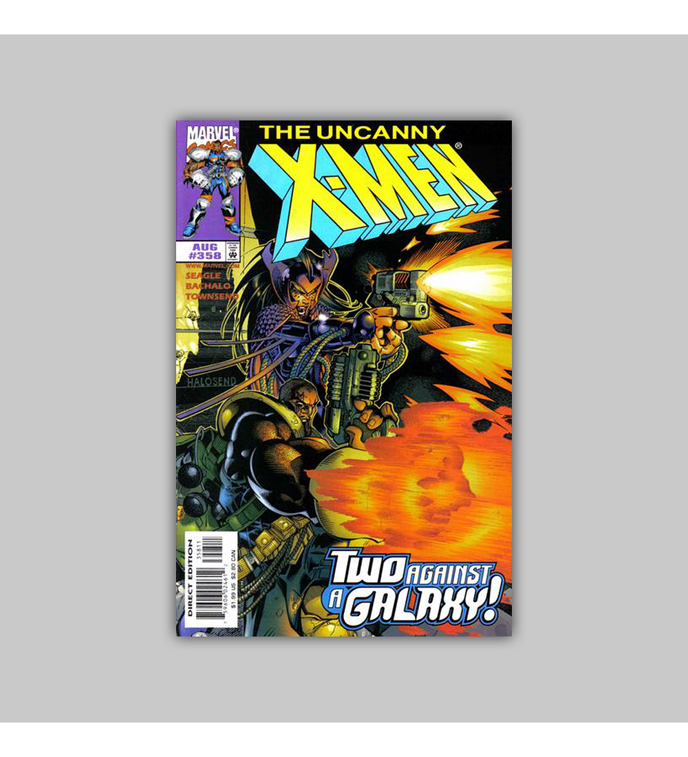 Uncanny X-Men 358 1998