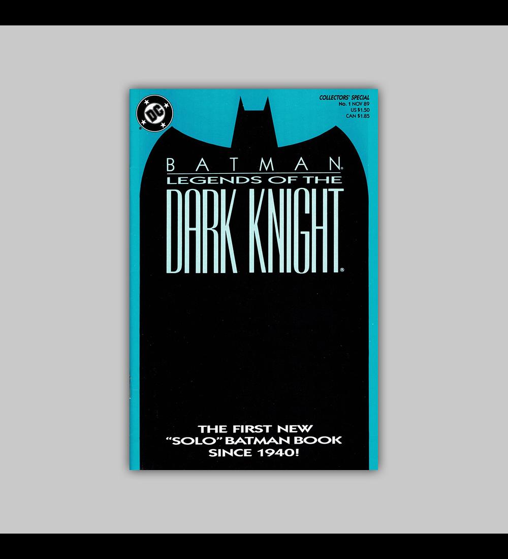 Batman: Legends of The Dark Knight 1 Blue 1989