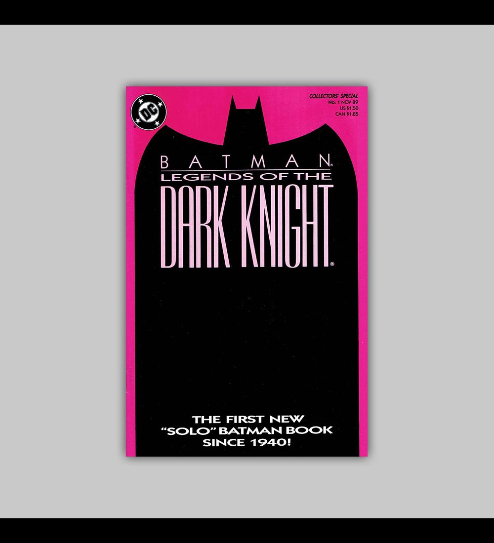 Batman: Legends of The Dark Knight 1 Purple 1989