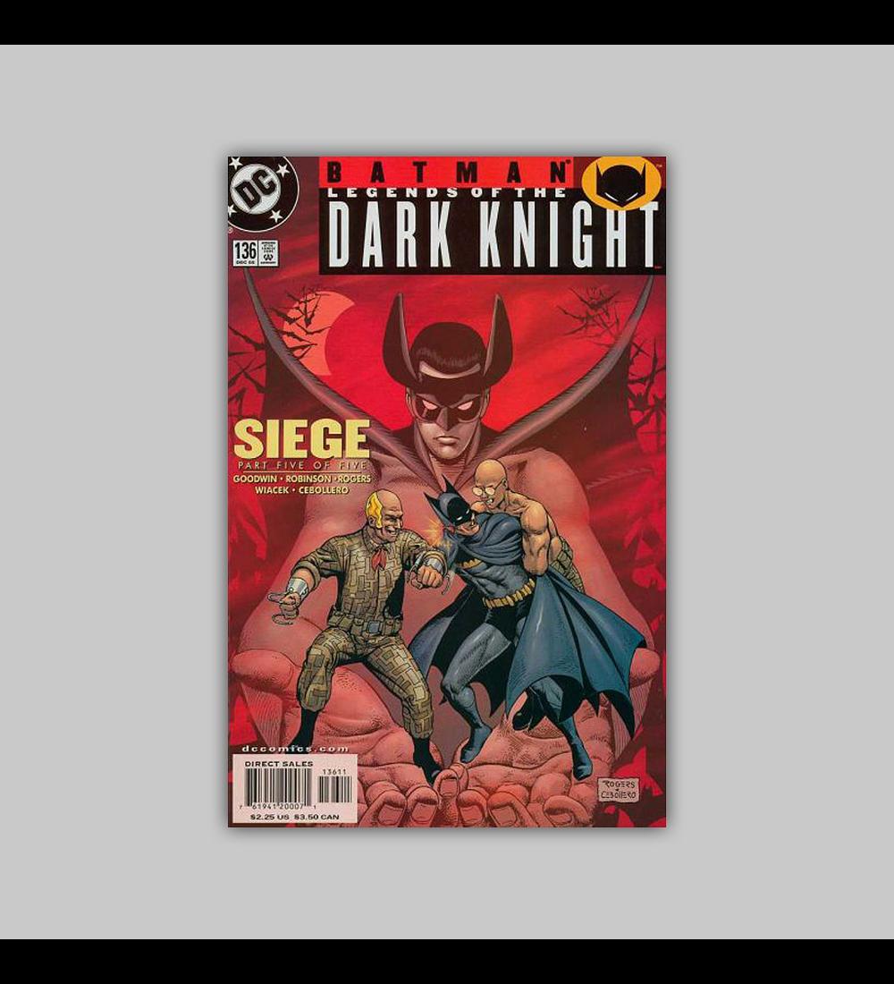 Batman: Legends of the Dark Knight 136 2000