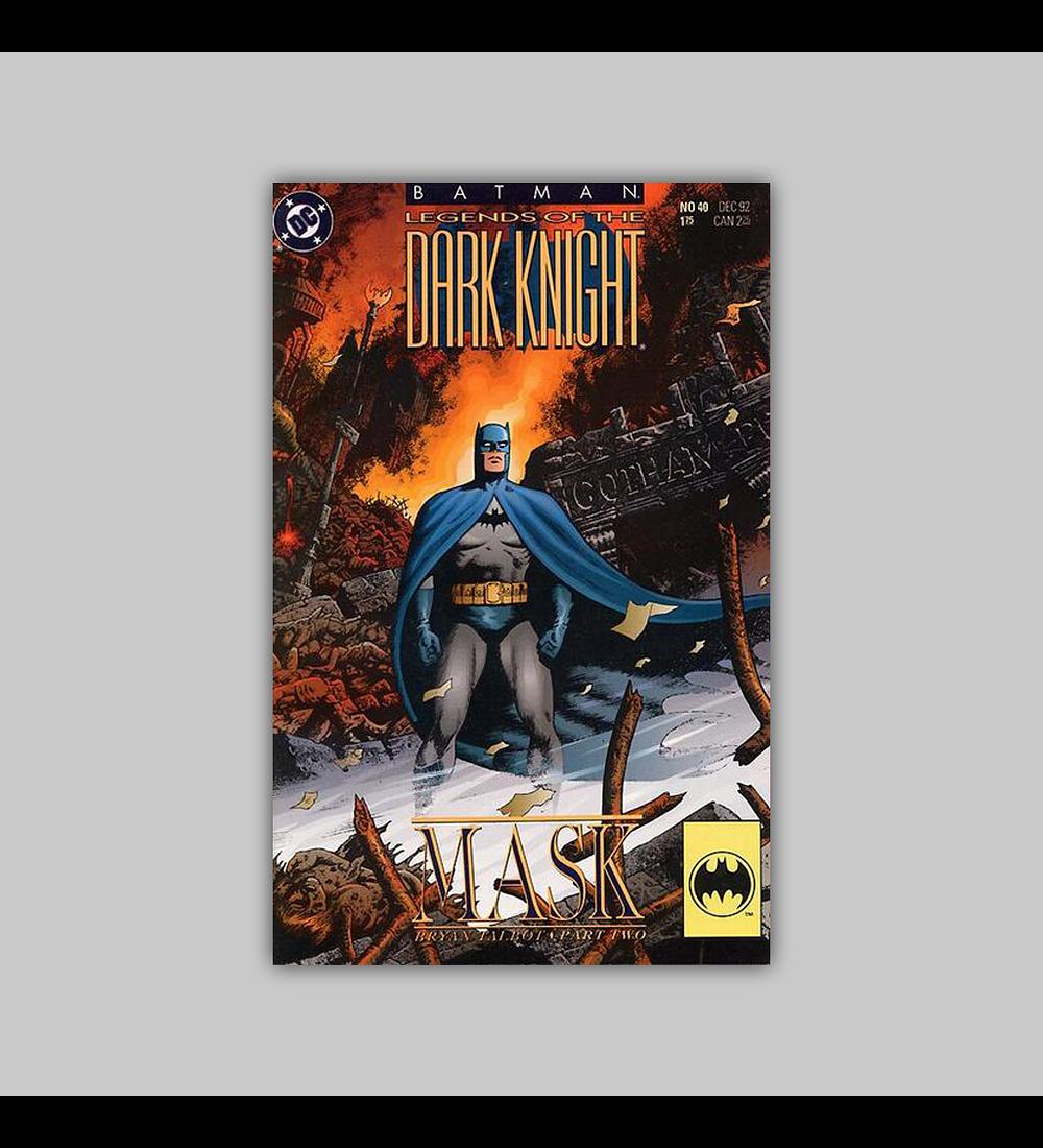 Batman: Legends of the Dark Knight 40 1992
