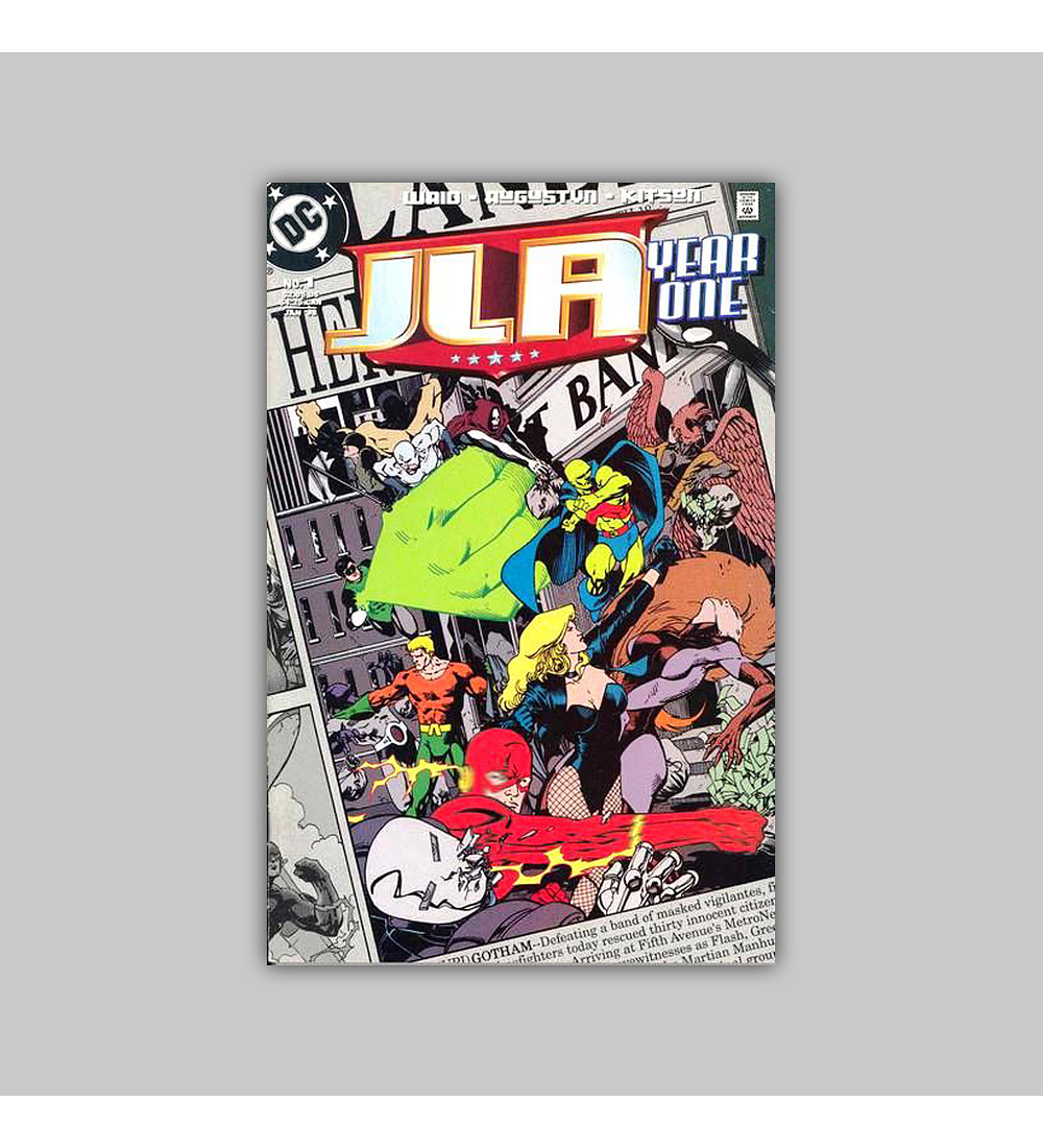 JLA: Year One 1 1998