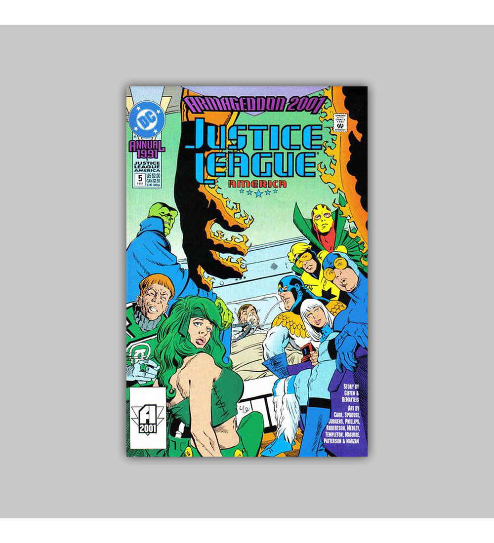 Justice League America Annual 5 1991