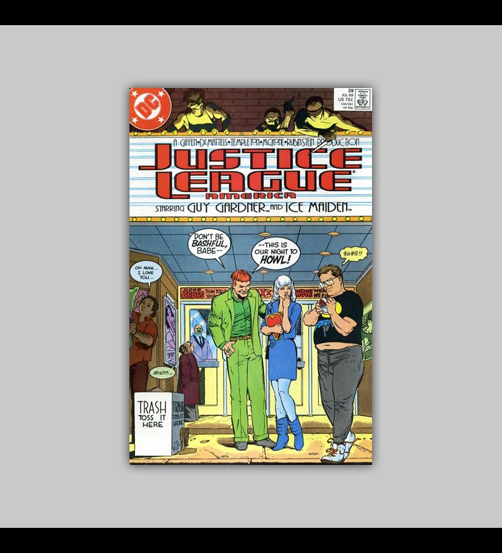Justice League America 28 1989