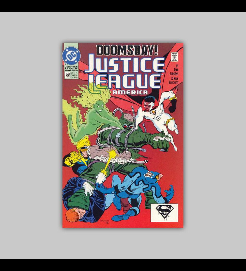 Justice League America 69 1992