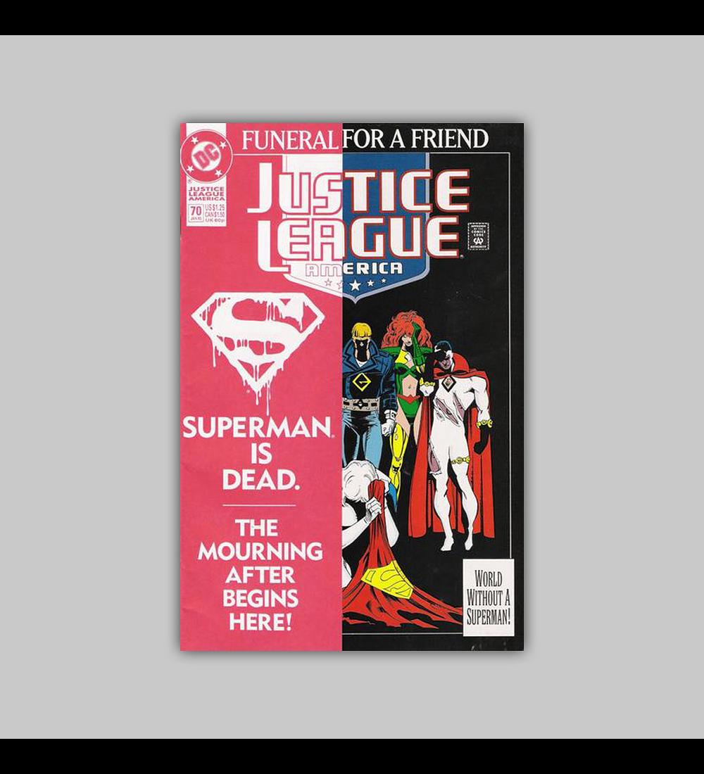 Justice League America 70 1993