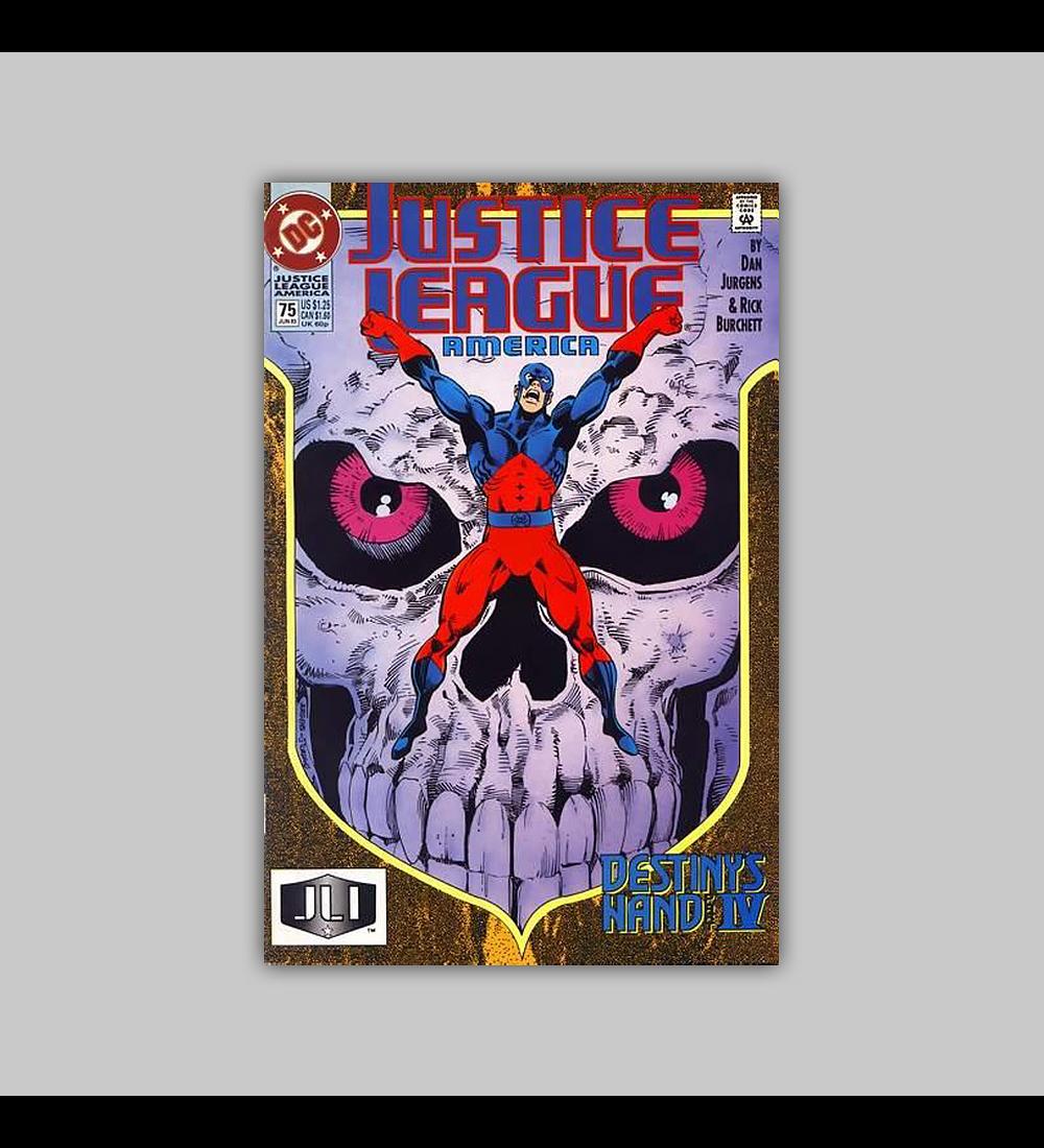 Justice League America 75 1993
