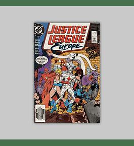 Justice League Europe 3 1989