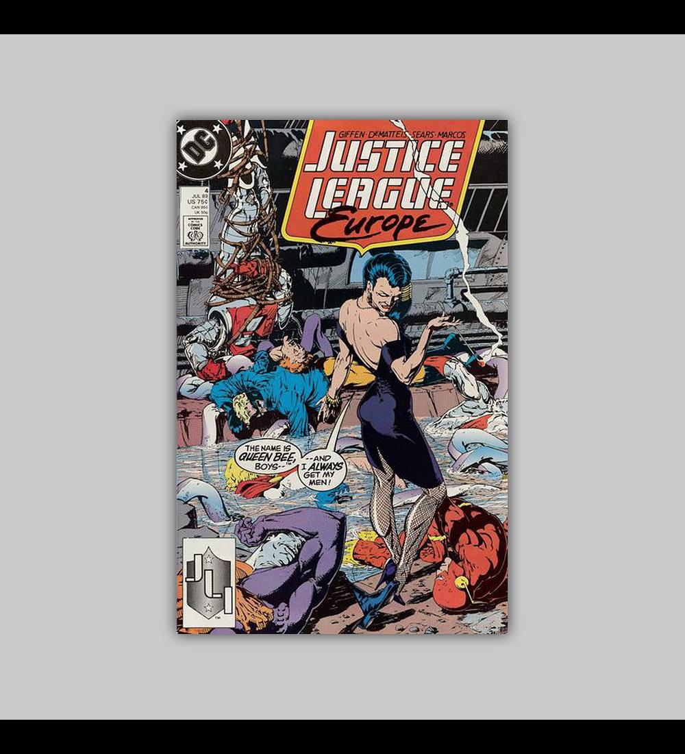 Justice League Europe 4 1989