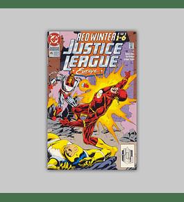 Justice League Europe 45 1992
