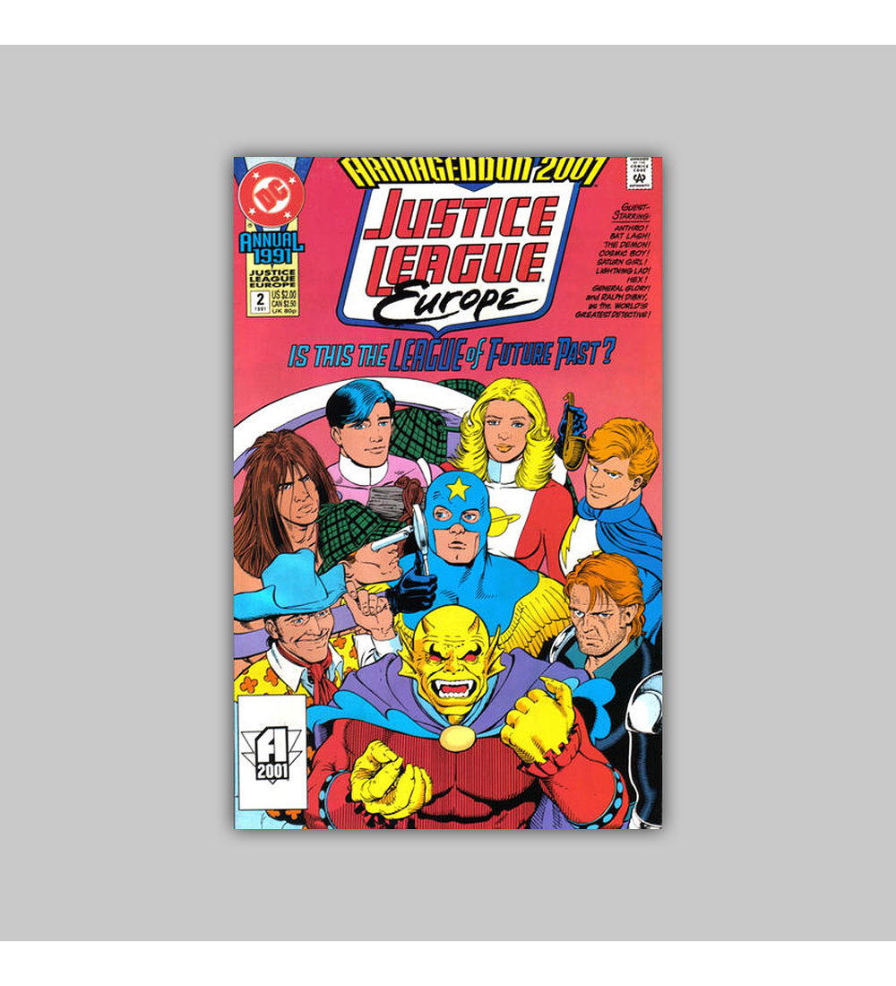 Justice League Europe Annual 2 1991
