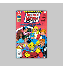 Justice League Europe Annual 2 1991