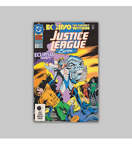 Justice League Europe Annual 3 1992