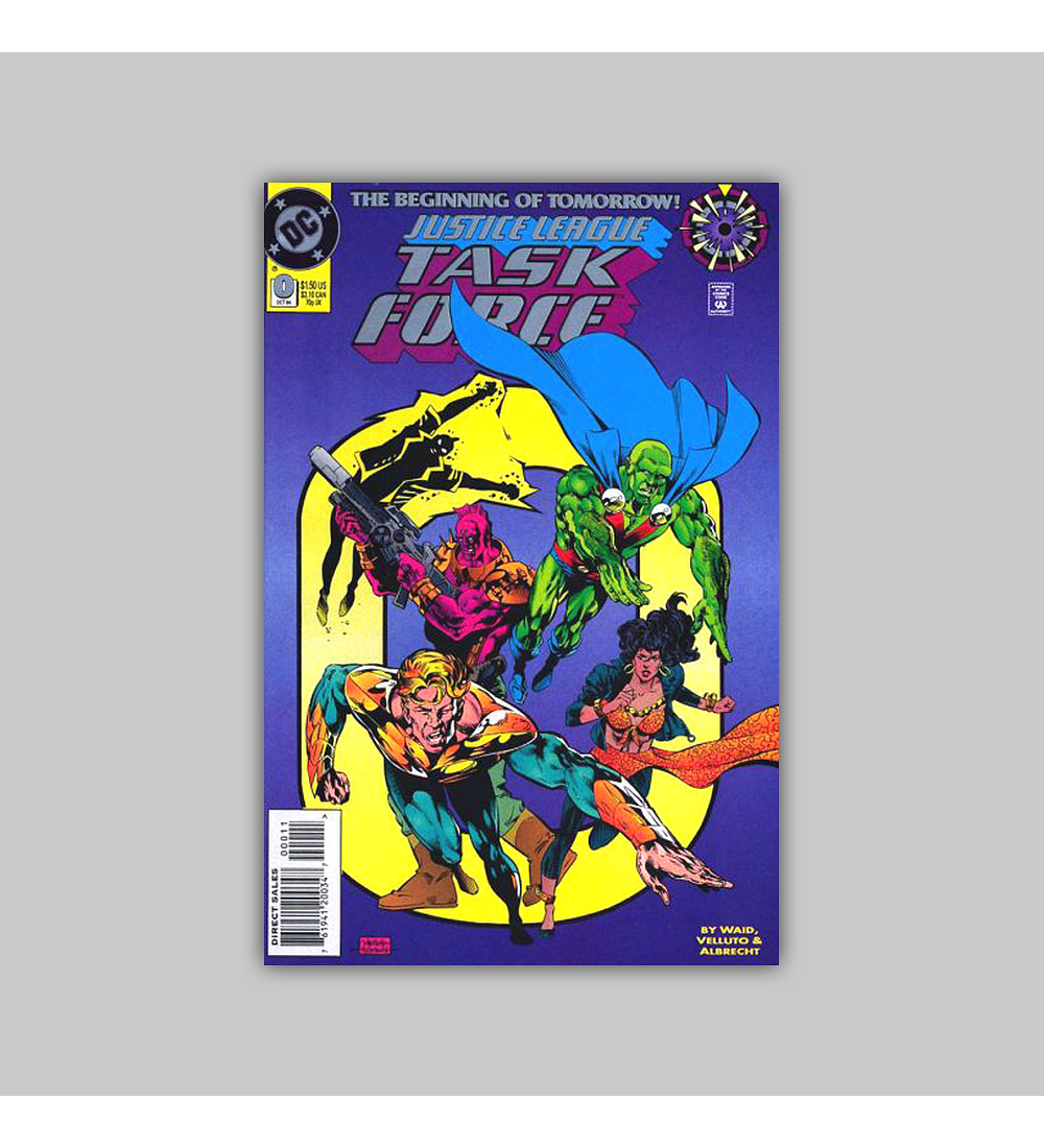 Justice League Task Force 0 1994