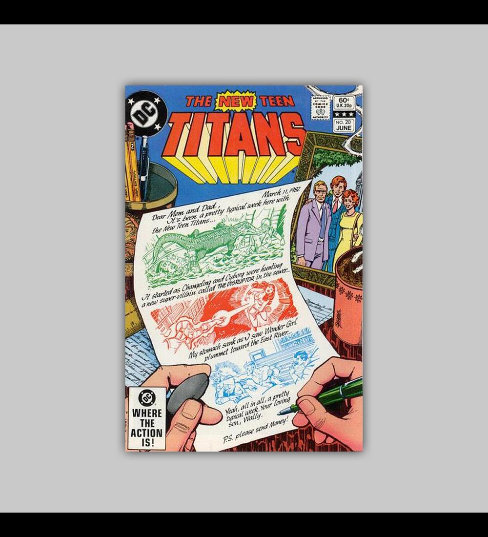 New Teen Titans 20 1982