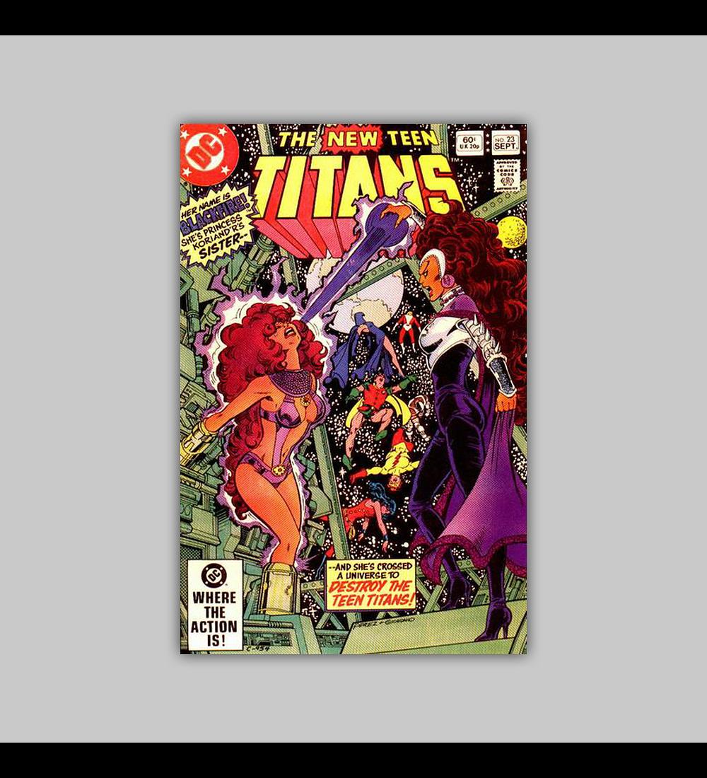 New Teen Titans 23 1982