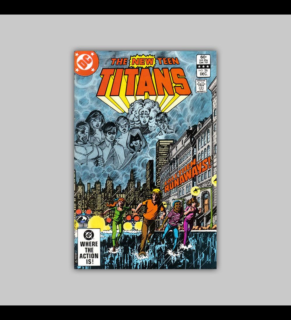 New Teen Titans 26 1982