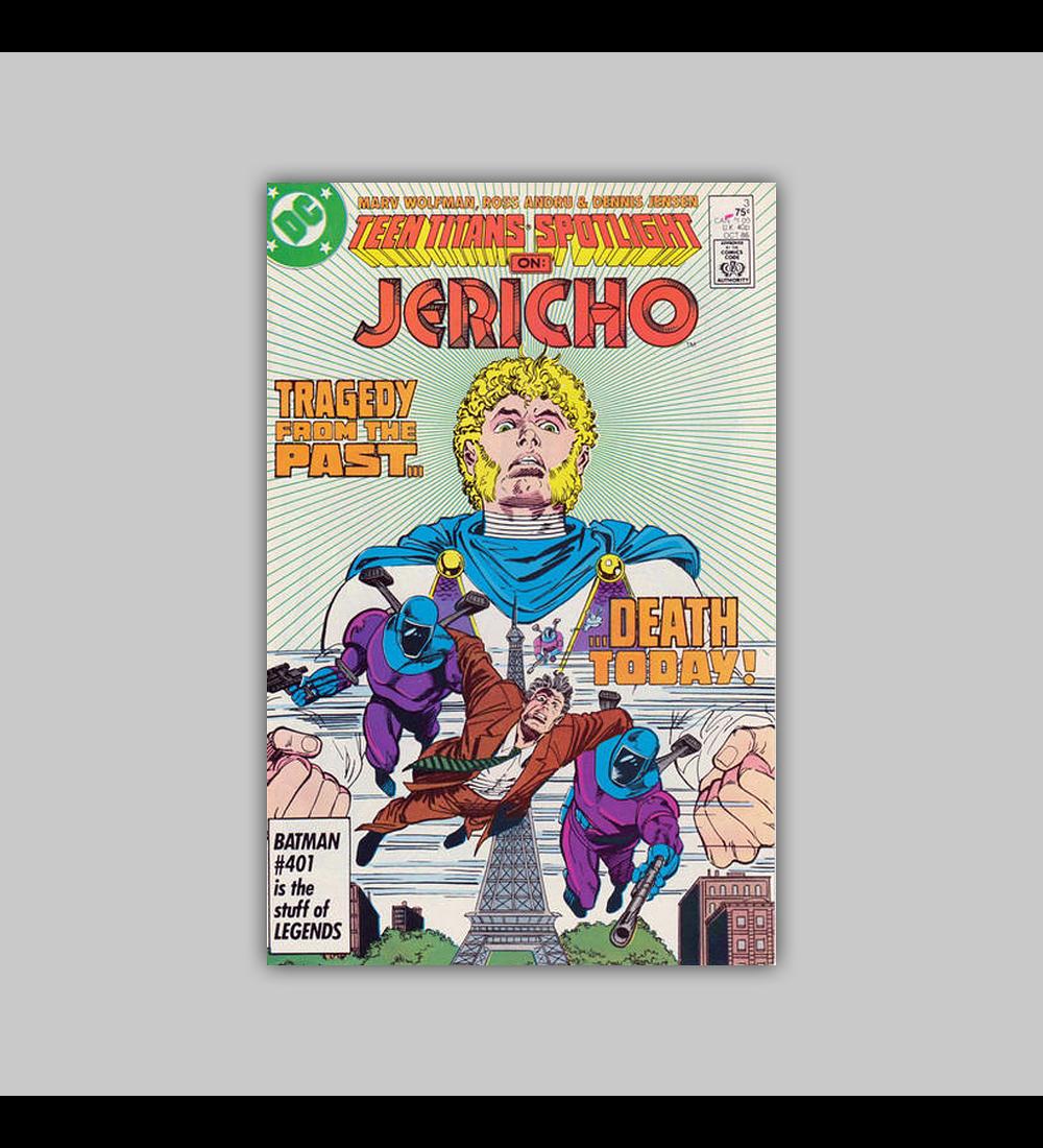 Teen Titans Spotlight 3 1986