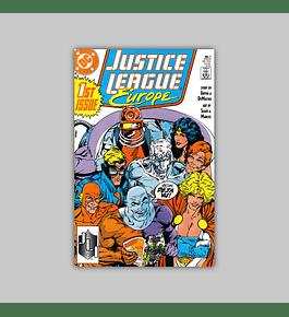 Justice League Europe 1 1989