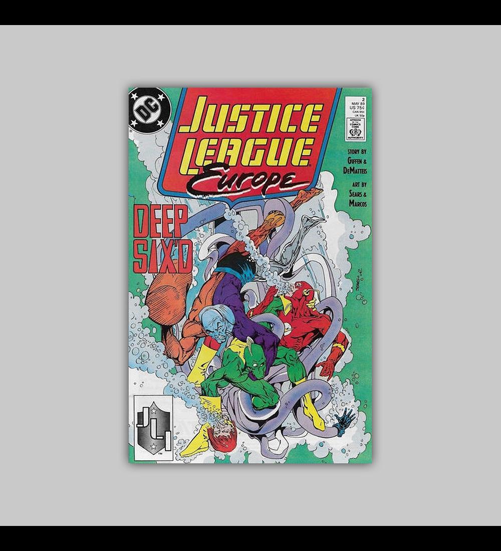 Justice League Europe 2 1989