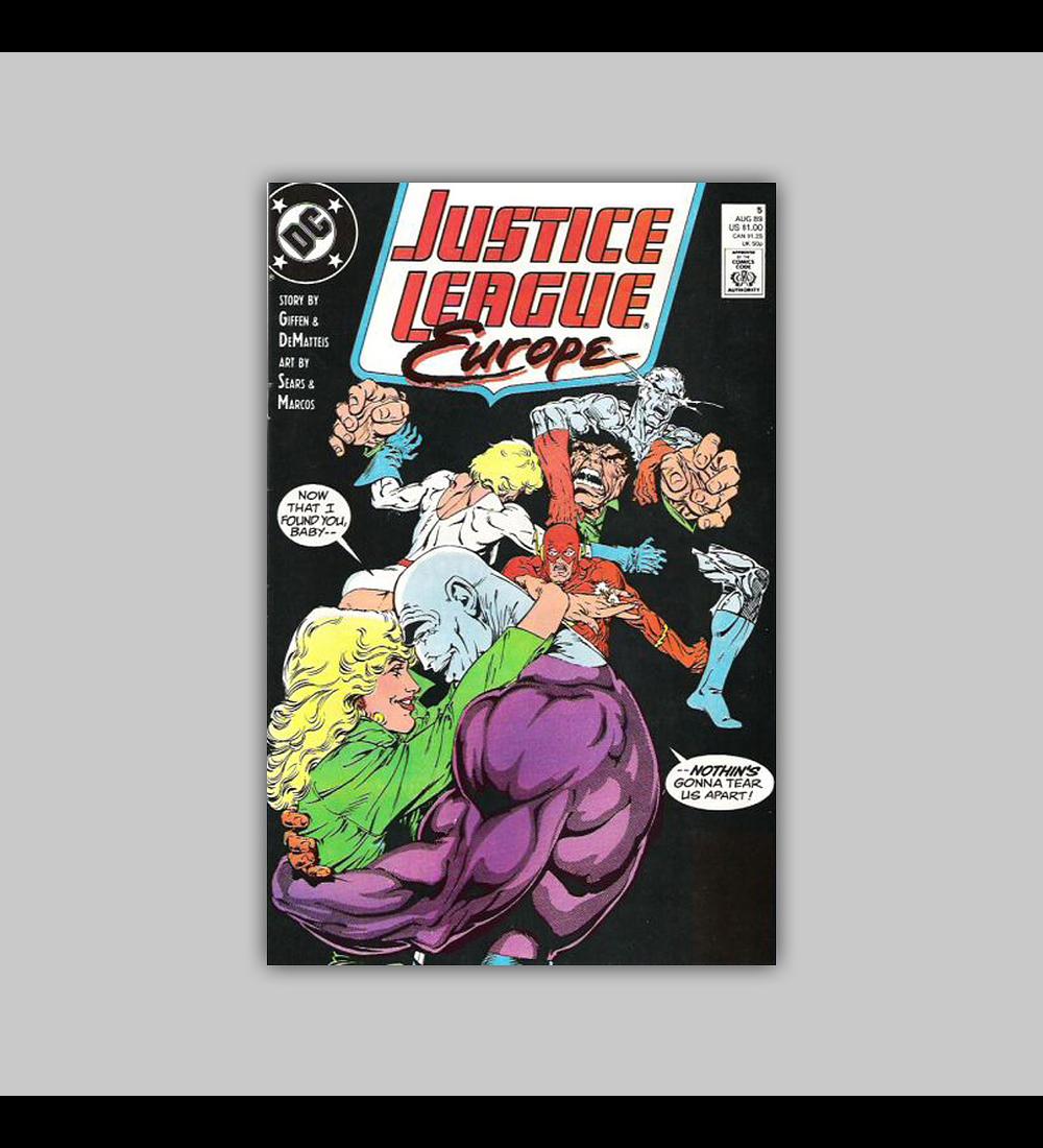Justice League Europe 5 1989