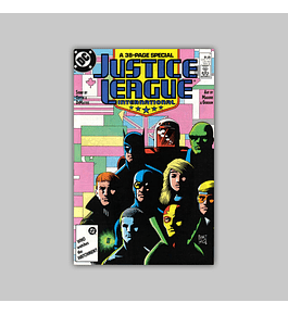 Justice League International 7 1987