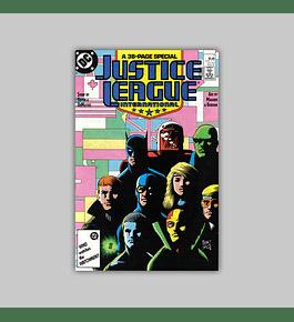 Justice League International 7 1987
