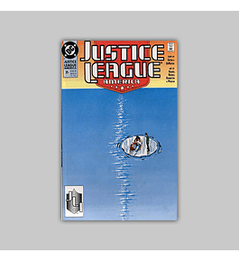 Justice League America 35 1990