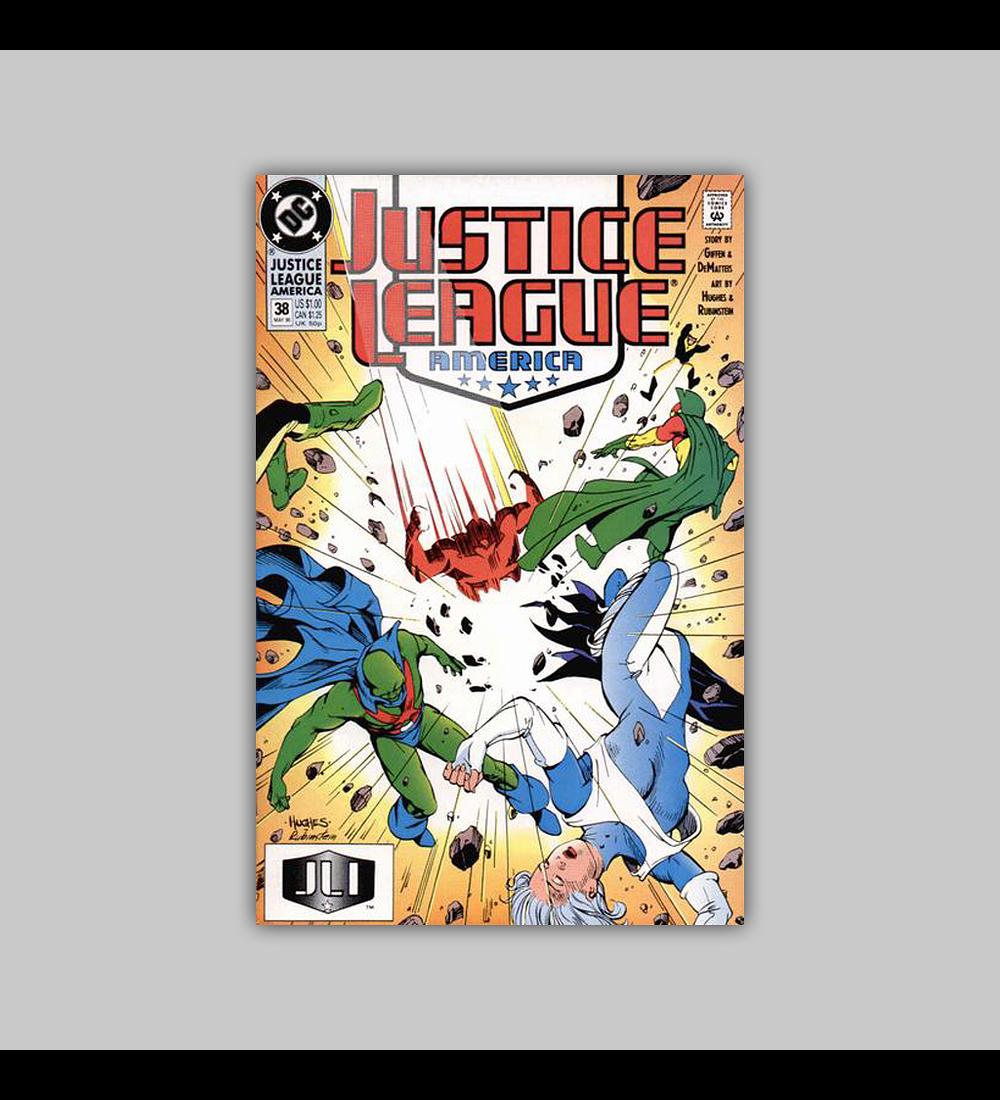 Justice League America 38 1990