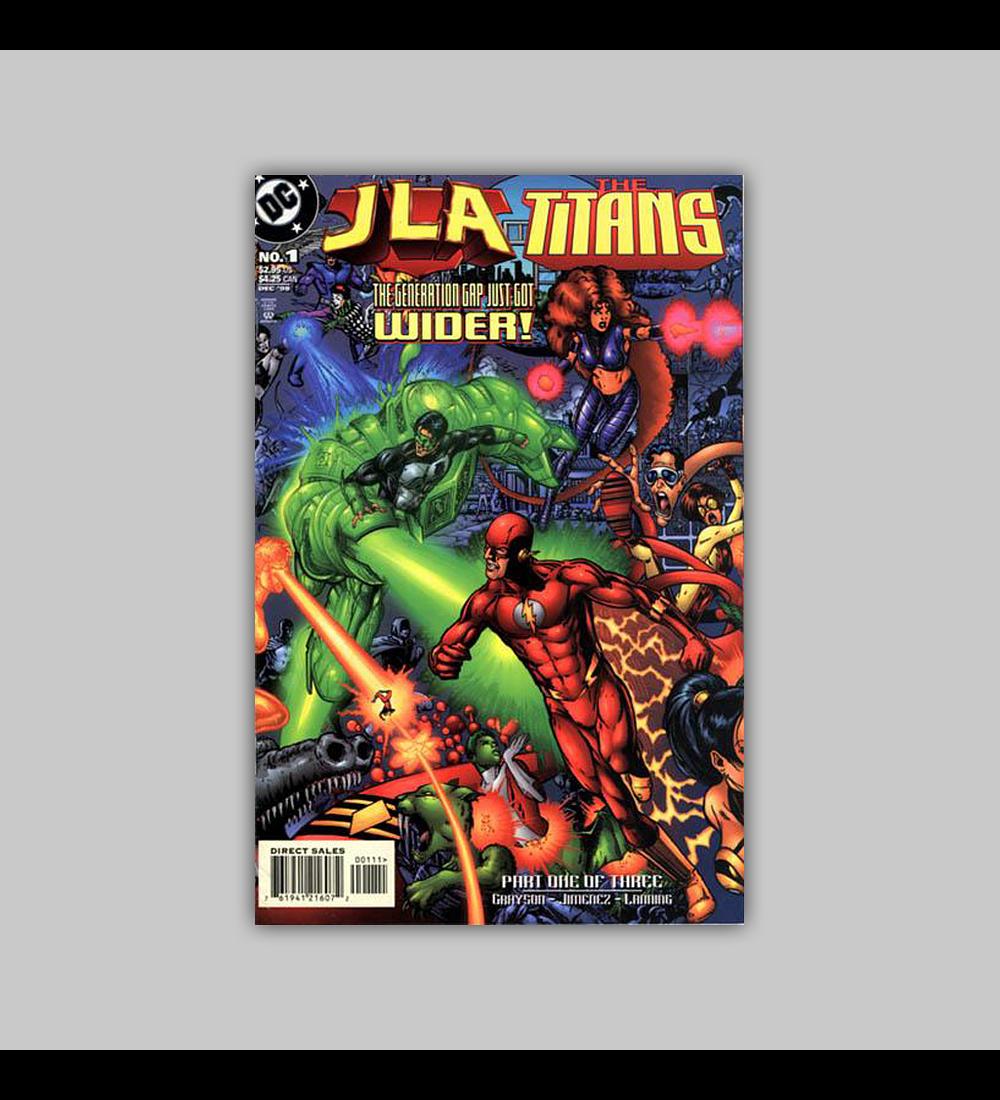 JLA Vs. The Titans 1 1998