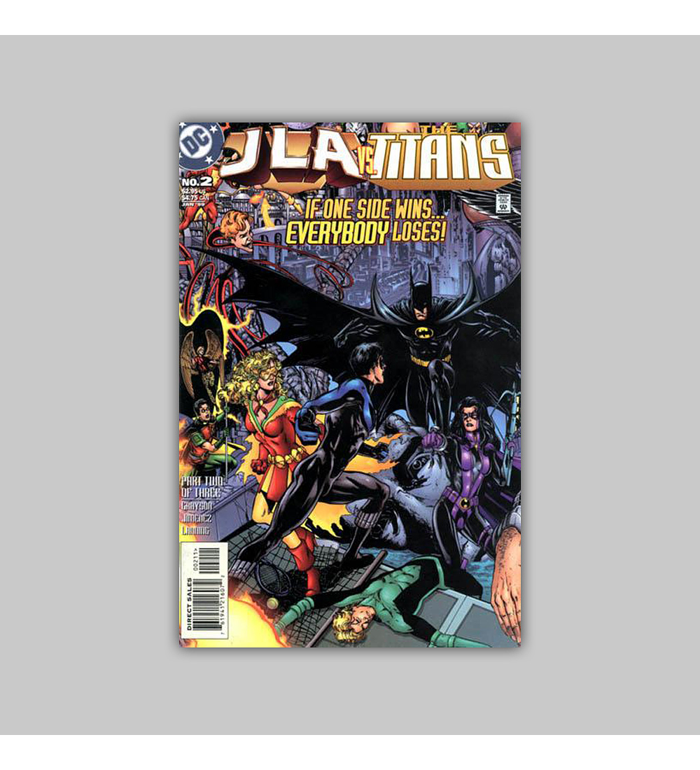 JLA Vs. The Titans 2 1998
