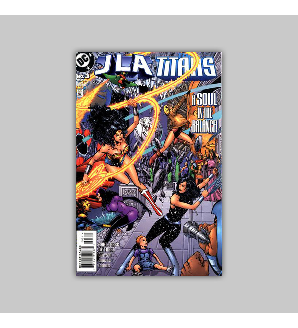 JLA Vs. The Titans 3 1999