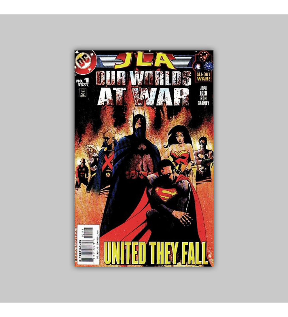 JLA: Our Worlds at War 1 2001