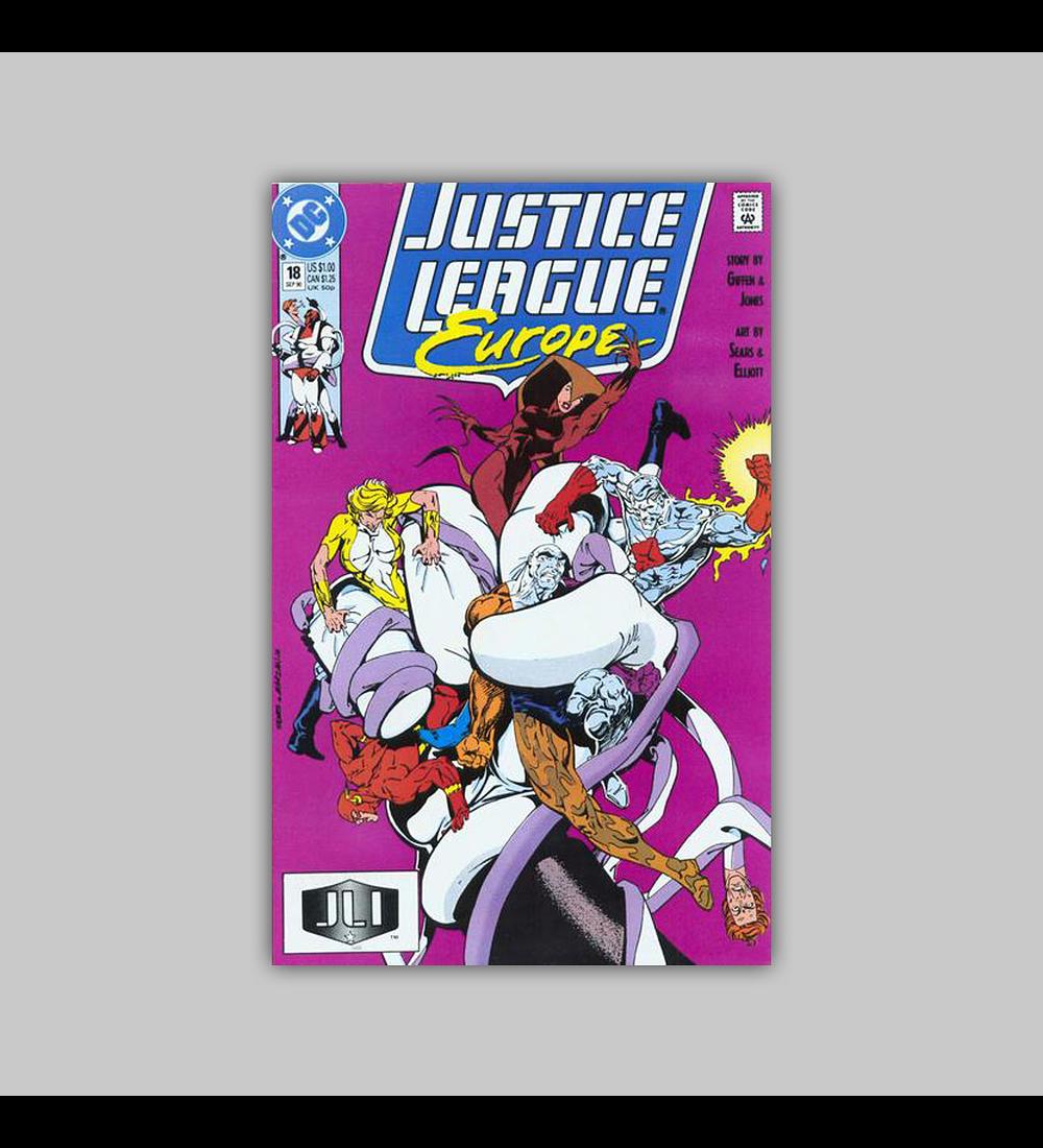Justice League Europe 18 1990