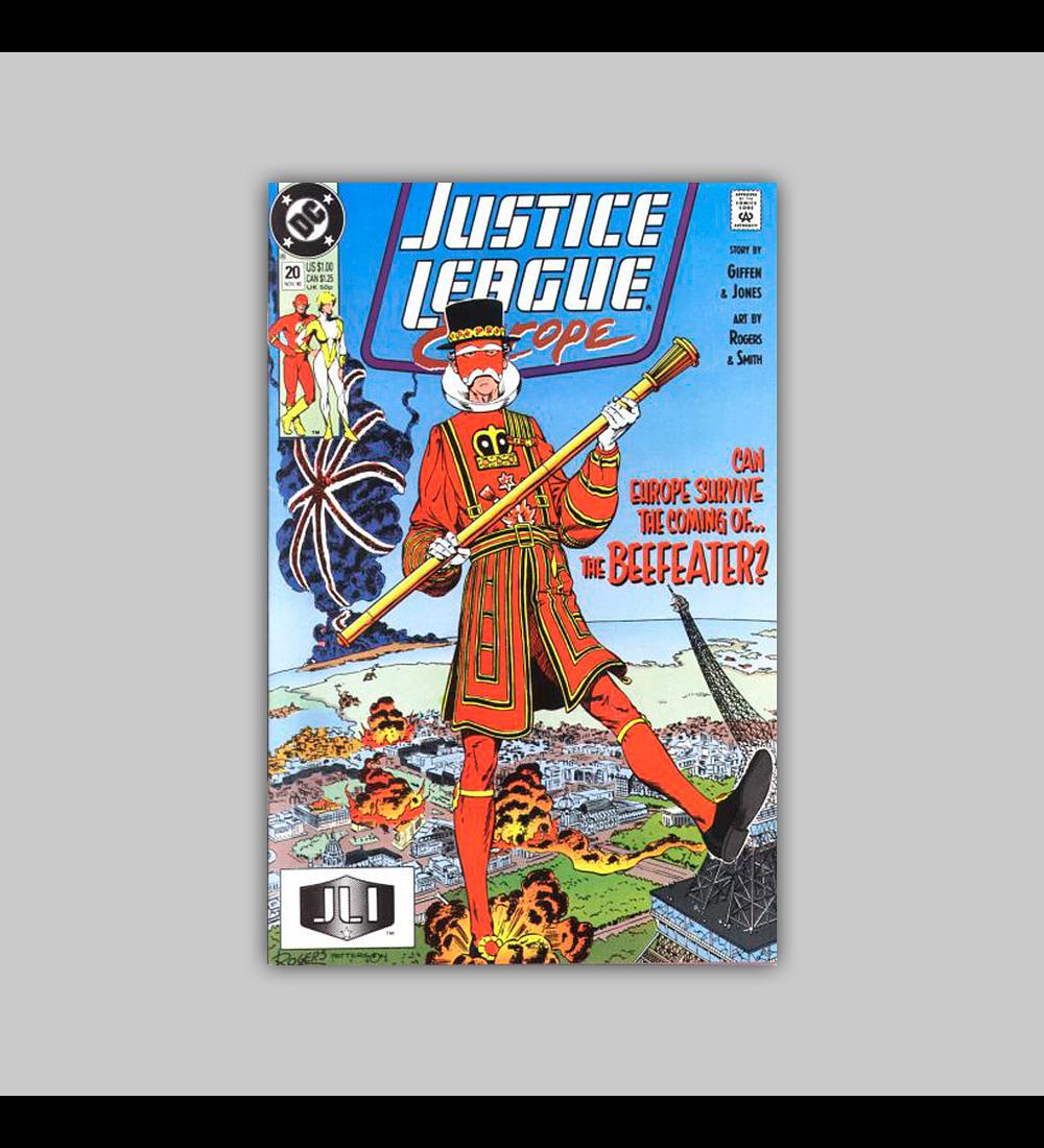 Justice League Europe 20 1990