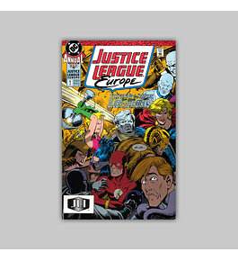 Justice League Europe Annual 1 1990
