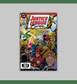 Justice League Europe Annual 1 1990